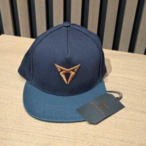 Petrol blue CUPRA flat peak cap